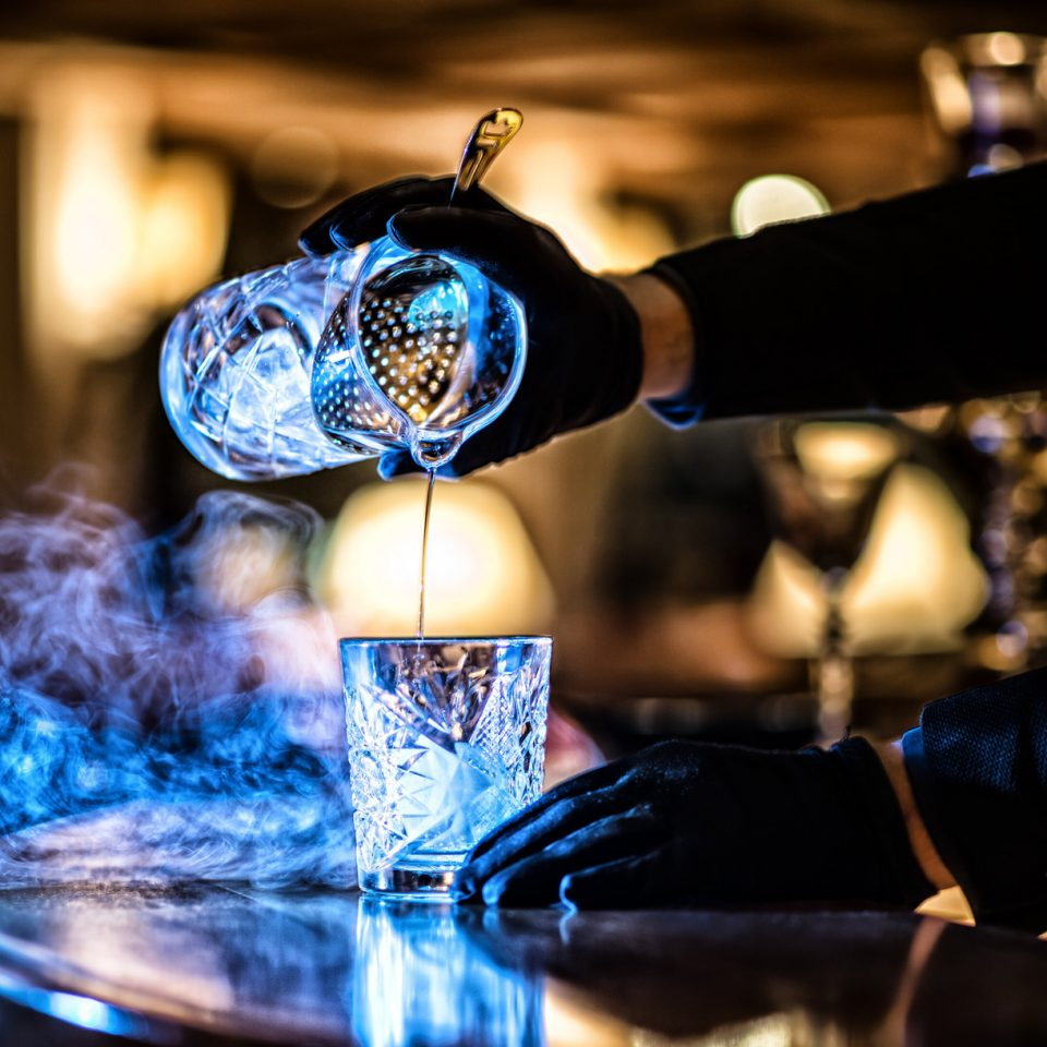 Cocktails in der Bar 67 – Ischgl