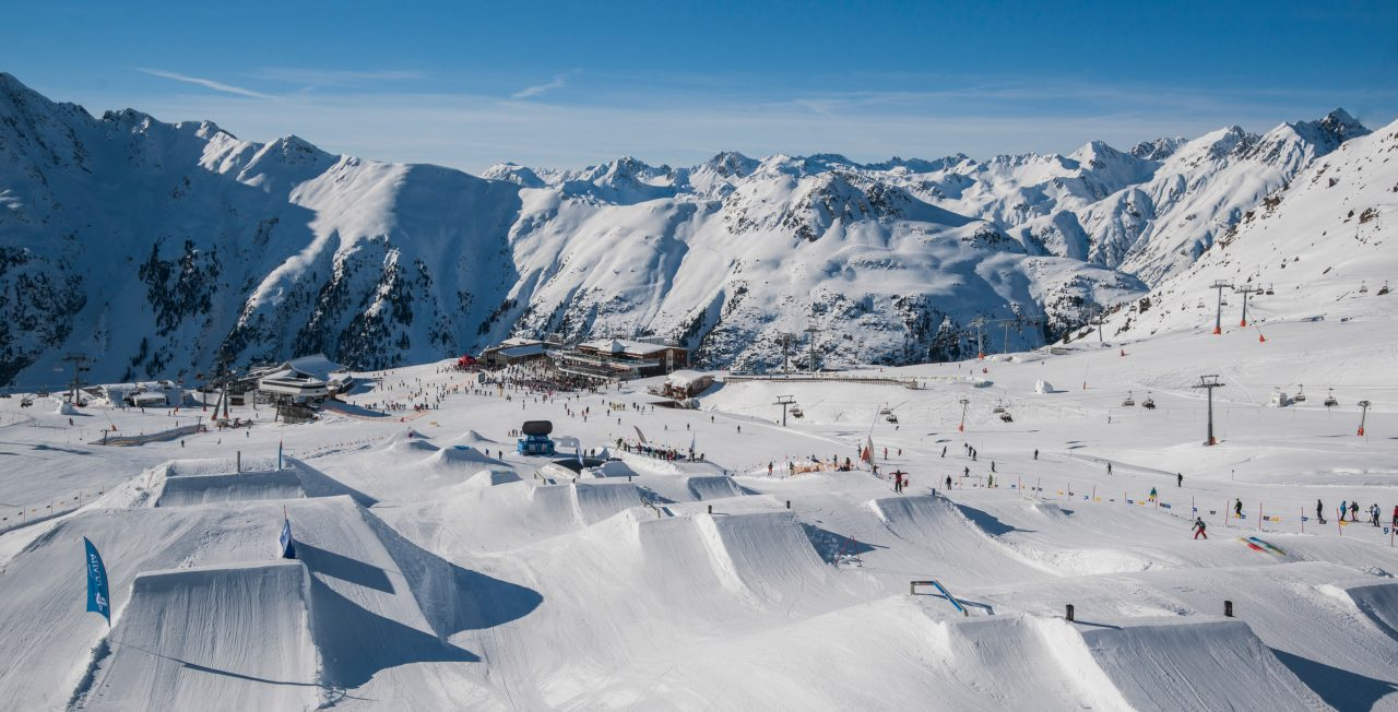 Wintersport in Ischgl
