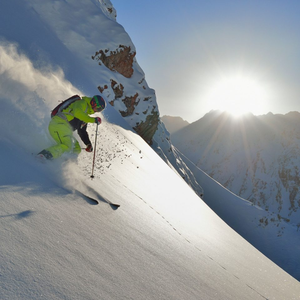 Freeride in Ischgl